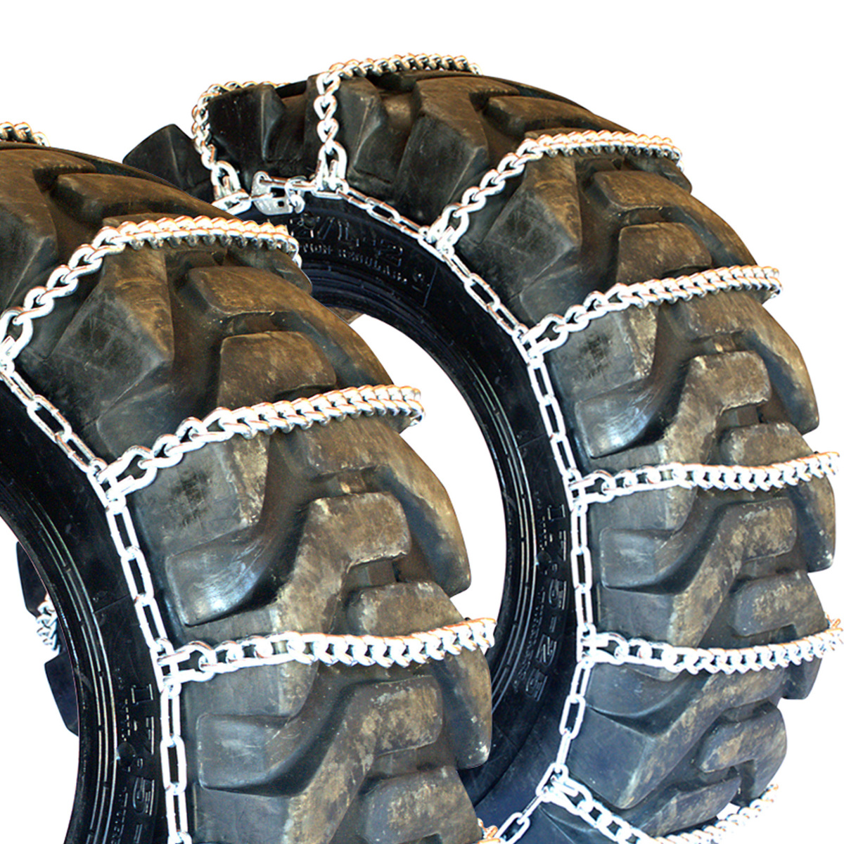 Titan Tractor Link Tire Chains Snow Ice Mud 10mm 124 16 Ebay