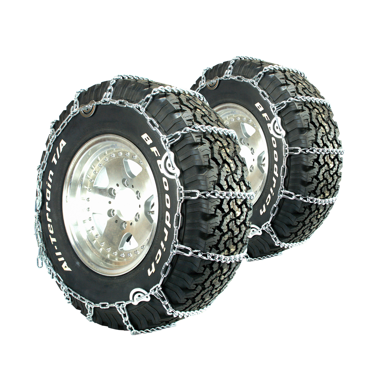 Titan V-Bar Tire Chains CAM Type Ice or Snow Covered Roads 5.5mm 245//75-17