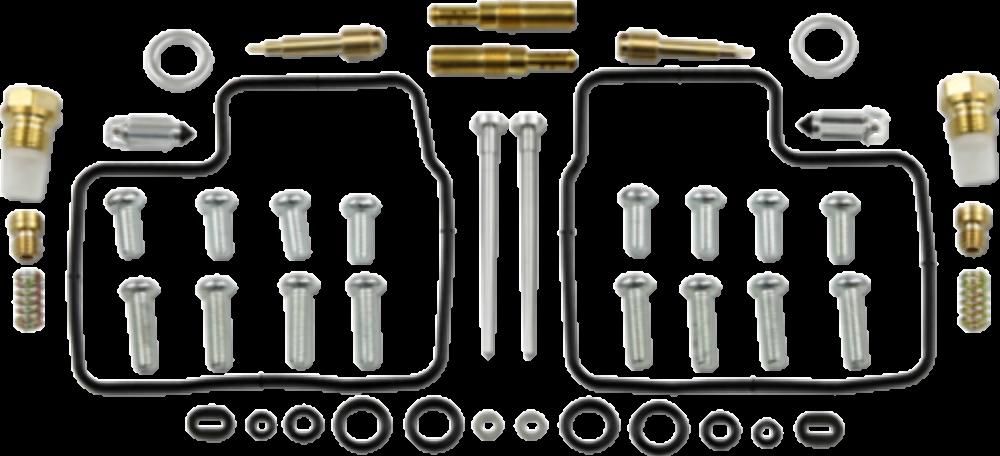 Carburetor Repair Kit for 2006 - 2007 Honda VT1100C Shadow Spirit