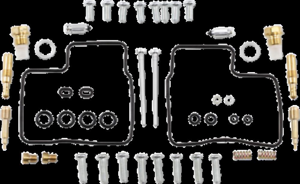 Carburetor Repair Kit for 2000 - 2005 Honda Shadow Sabre VT1100C2