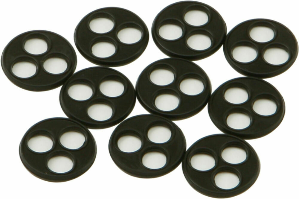 HardDrive Replacement 3 Hole Style Viton Petcock Gasket (10 pack) 11494