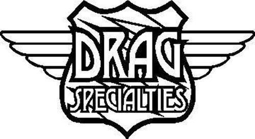 Drag Specialties Fork Lock with Keys For Harley-Davidson Chrome 0420-0003