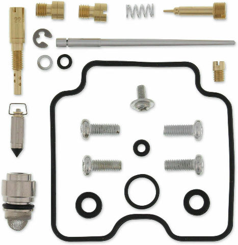Kawasaki KLX400SR Suzuki DRZ400 Carburetor Repair Kit - Moose Racing 1003-0714