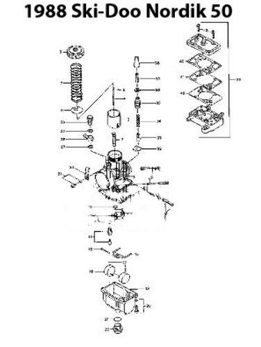 Ski Doo Carb Diagram - Wiring Diagrams Dock