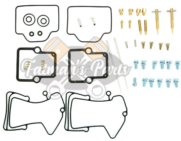 Polaris Snowmobile Carburetor Rebuild Kit - Parts Unlimited 1003-1540