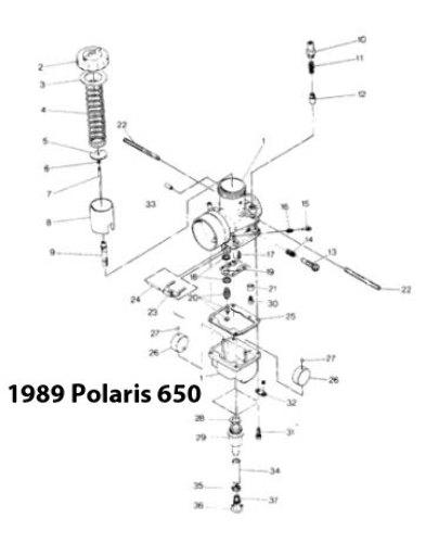 Polaris Indy Xcr 600 Snowmobile Carburetor Rebuild Kit 1003 1551