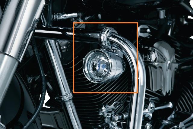 Kuryakyn 5019 Chrome Motorcycle 1 25 Quot Engine Guard Mounted