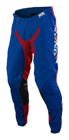 Troy Lee Designs SE Pro Air Boldor HRC Honda Blue/Red Pants - All Sizes