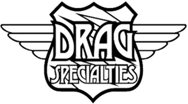 Drag Specialties Chrome Regulator Cover for Harley Davidson  01-06 fxst flst