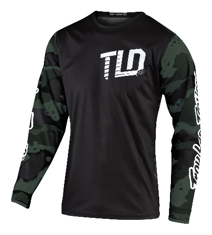 Troy Lee Designs GP Camo Green/Black Jersey - All Sizes