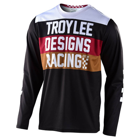 Troy Lee Designs GP Continental Black Jersey - All Sizes