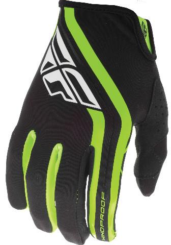 Fly Racing Title Mens MX Offroad Gloves Black//Hi-Vis