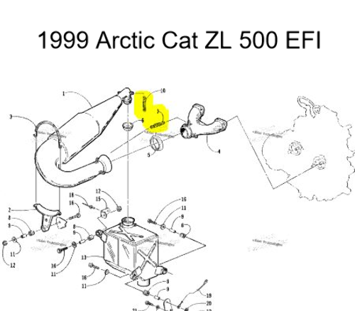 1999 Arctic Cat Zr 500 Snowmobile Wiring Diagrams