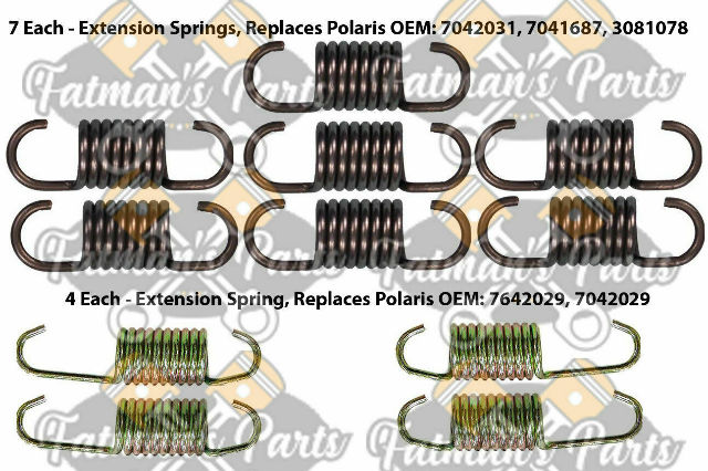 Exhaust Spring Replacement Kit for Polaris 700 800 XC SP 600 800 RMK Snowmobile