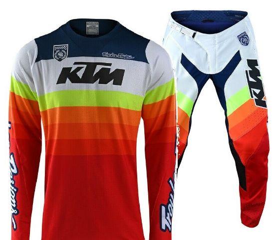 Troy Lee Designs SE Pro KTM Mirage Team Jersey & Pants Combo- All Sizes