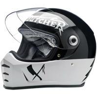 Biltwell Inc LaneSplitter Rusty Butcher Motorcycle Helmet - XS-2XL