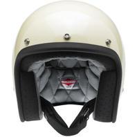 Biltwell Inc Bonanza Vintage White Motorcycle Helmet XS-2XL