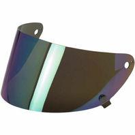 Biltwell Inc Gringo S Helmet Replacement Flat Anti-Fog Shield - Rainbow