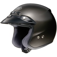 Shoei RJ Platinum-R Open-Face Motorcycle Helmet - ANTHRACITE METALLIC - XS-2XL