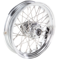 "Rear Wheel 16 40 Spoke 08-18 XL  16""x 3.5"" - Drag Specialties 0204-0358"