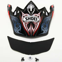 Shoei VFX-W ILLUSION TC-1 Off-Road Helmet Replacement Parts - Visors