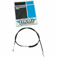 Black Performance Clutch Cable for Harley 1987-93 FXRS 1987-92 FXRT 1984-94 FXR