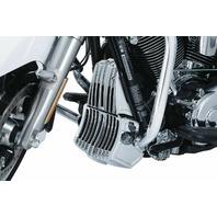 Kuryakyn 6417 Chrome Precision Oil Cooler Cover Harley 2017-2018