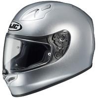 HJC FG-17 Silver Full Face Helmet -  Adult Sizes XS-3XL