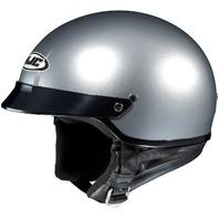HJC CS-2N Half Helmet - SILVER - Adult Sizes XS-2XL