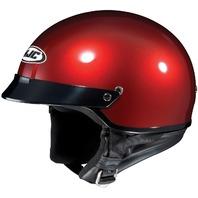 HJC CS-2N Half Helmet - WINE - Adult Sizes XS-2XL