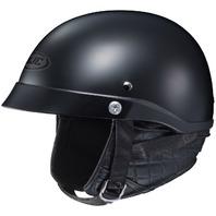 HJC CL-IRONROAD Half Helmet - MATTE BLACK - Adult Sizes XS-2XL