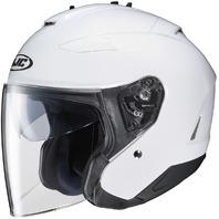 HJC IS-33 II Open-Face Motorcycle Helmet - WHITE - Adult Sizes XS-2XL