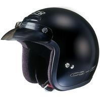 HJC CS-5N Black DOT Open-Face Helmet w/Low Profile Visor- Sizes 2XS-2XL