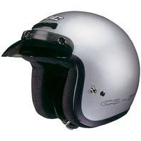 HJC CS-5N Silver DOT Open-Face Helmet w/Low Profile Visor - Sizes XS-2XL