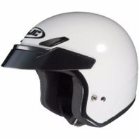 HJC CS-5N White DOT Open-Face Helmet - Adult Sizes XS-2XL