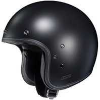 HJC IS-5 Open-Face Motorcycle Helmet - SEMI-FLAT BLACK - Adult Sizes XS-2XL