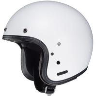 HJC IS-5 Open-Face Motorcycle Helmet - SEMI-FLAT WHITE - Adult Sizes XS-2XL