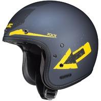 HJC IS-5 ARROW MC-3F Open-Face Helmet - Matte/Yellow - Adult Sizes XS-2XL