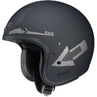 HJC IS-5 ARROW MC-5F Open-Face Helmet - Matte/Grey - Adult Sizes XS-2XL