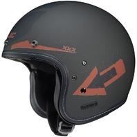 HJC IS-5 ARROW MC-9F Open-Face Helmet - Matte/Orange - Adult Sizes XS-2XL