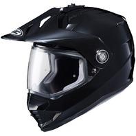 HJC DS-X1 Dual-Sport Helmet - BLACK   Adult Sizes XS-2XL