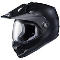 HJC DS-X1 Dual-Sport Helmet - SEMI-FLAT BLACK   Adult Sizes XS-2XL