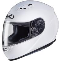 HJC CS-R3 White DOT Full-Face Helmet - Adult Sizes XS-2XL