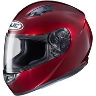 HJC CS-R3 Wine DOT Full-Face Helmet - Adult Sizes XS-2XL