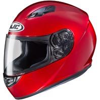 HJC CS-R3 Candy Red DOT Full-Face Helmet - Adult Sizes XS-2XL