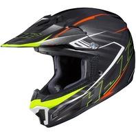 HJC CL-XY 2 BLAZE MC-5 Off-Road Helmet - ORANGE/YELLOW - Youth Sizes S-XL