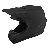 Troy Lee Designs GP Mono Black Helmet - Size XS-2XL