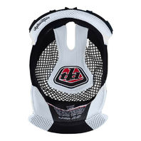 Troy Lee Designs D3 White Replacement Helmet Headliner - All Sizes