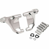 Drag Specialties Chrome Passenger Foot Peg Mount Kit  Harley Sportster 49322-04