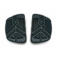 Kuryakyn Black Rubber Spear Mini Boards Footboard Foot Pegs Indian Scout Chief